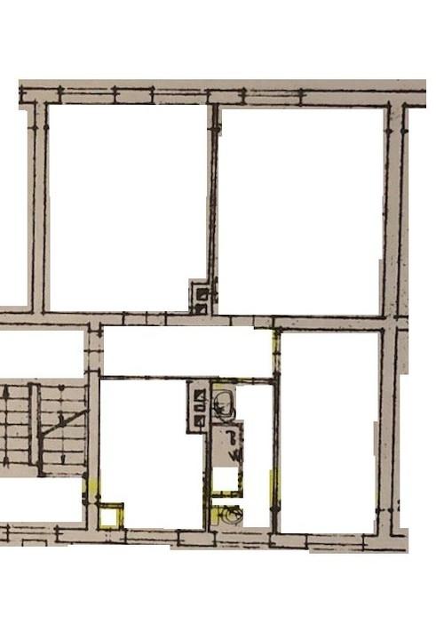 OG rechts WHG 62 Grundriss