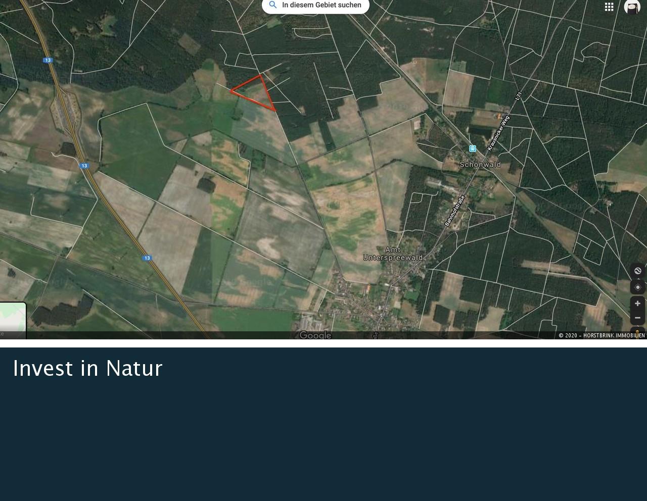 Lageplan Grundstück grob
