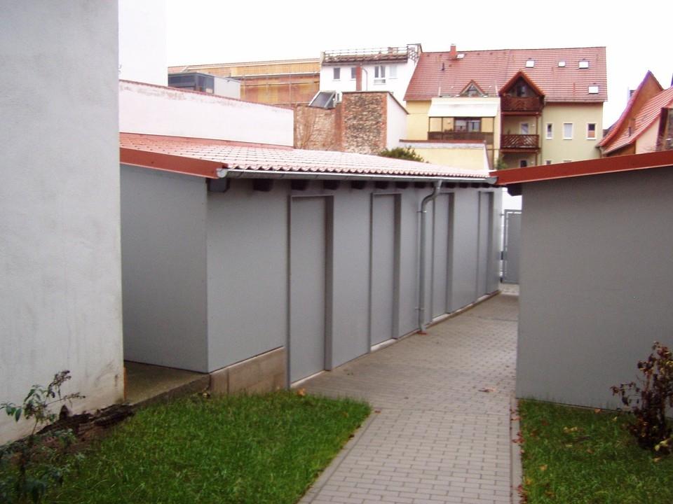Abstellräume im Hof