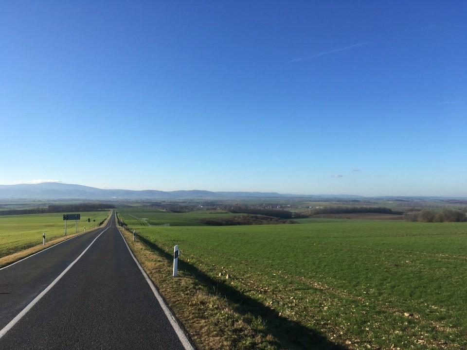 Blick Umland zum Harz
